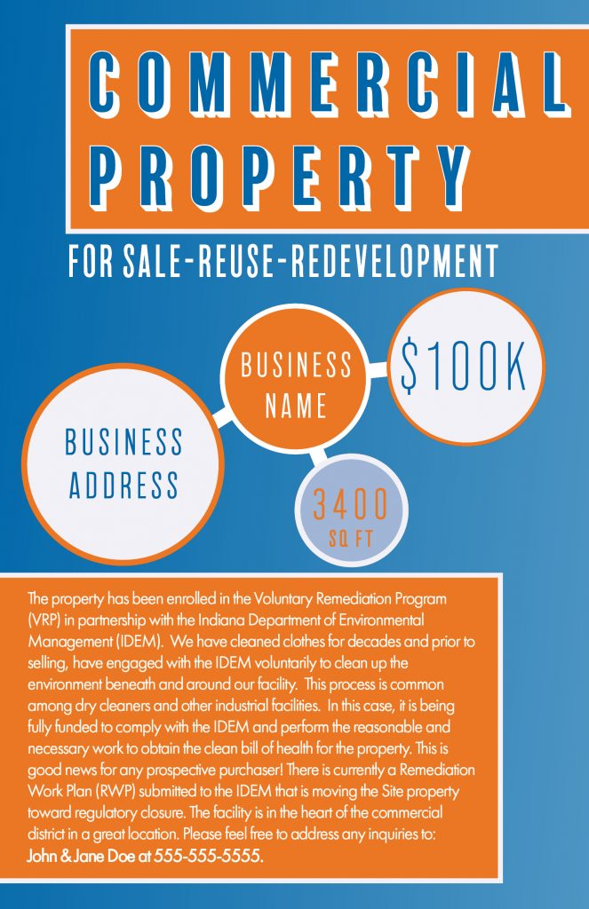 Helping Clients with Property Redevelopment - Commercial Real Estate Poster