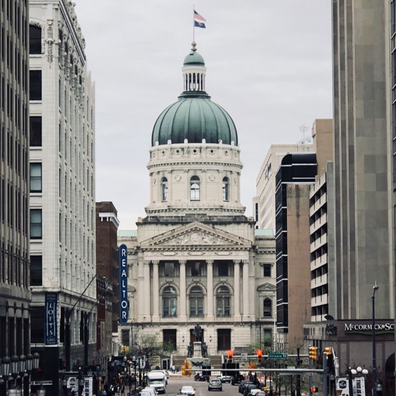 picture of Indiana Statehouse