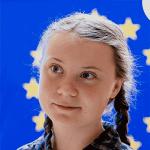 headshot of greta thunberg